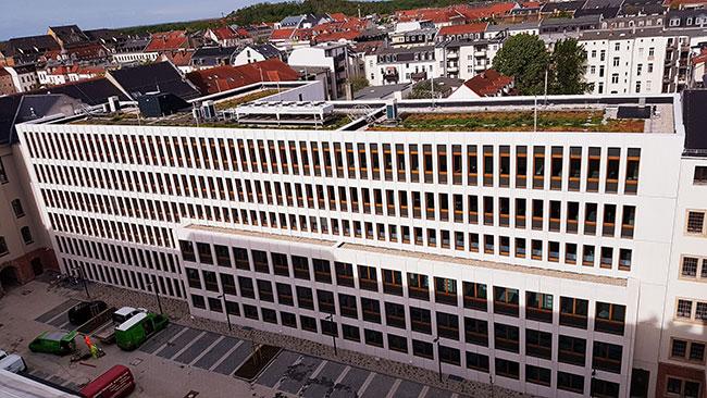 Justizzentrum Leipzig, 1. BA Umbau / Sanierung sowie Neubau Staatsanwaltschaft Leipzig
